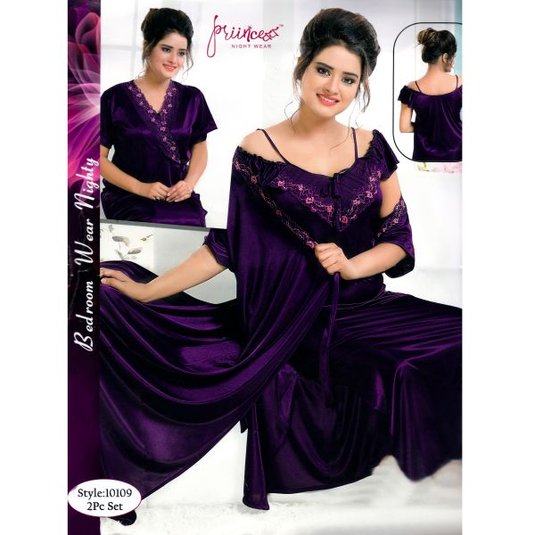 Fashionable Two Part Nighty-10109