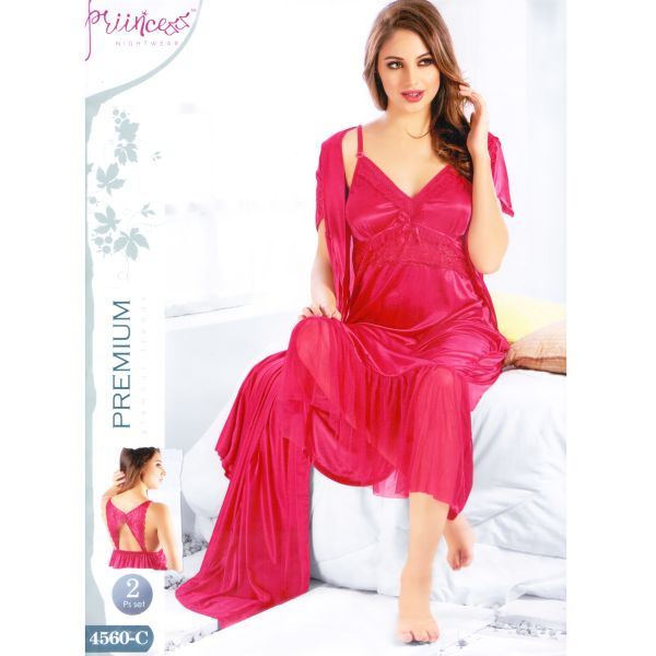 Fashionable Two Part Nighty-4560 C