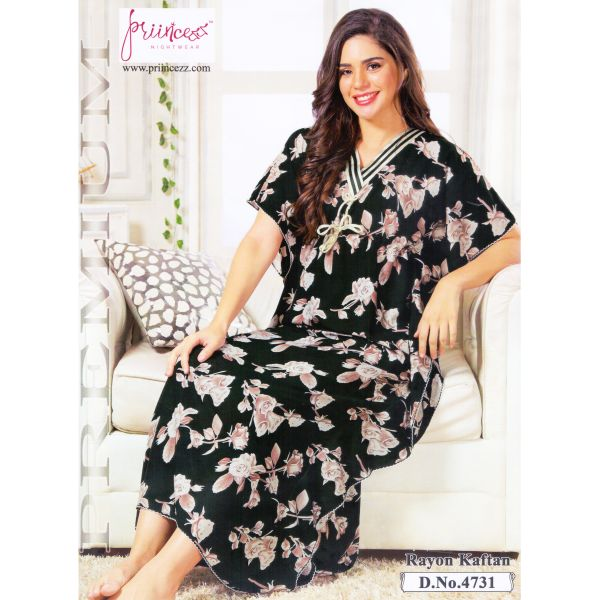 Fashionable One Part Kaftan-4731