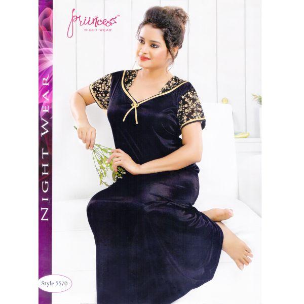 Fashionable One Part Kaftan-5570