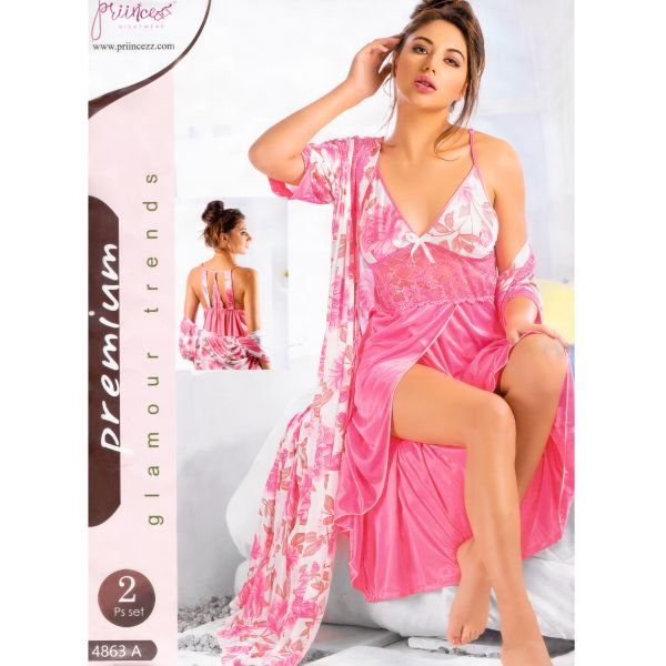 Fashionable Two Part Nighty-4863 A