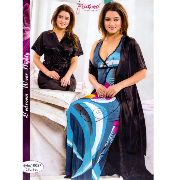 Fashionable Two Part Nighty-10057