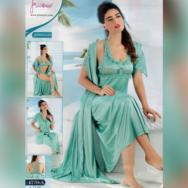 Fashionable Six Part Nighty-4770-A
