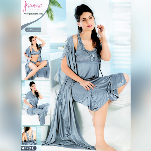 Fashionable Six Part Nighty-4770-E