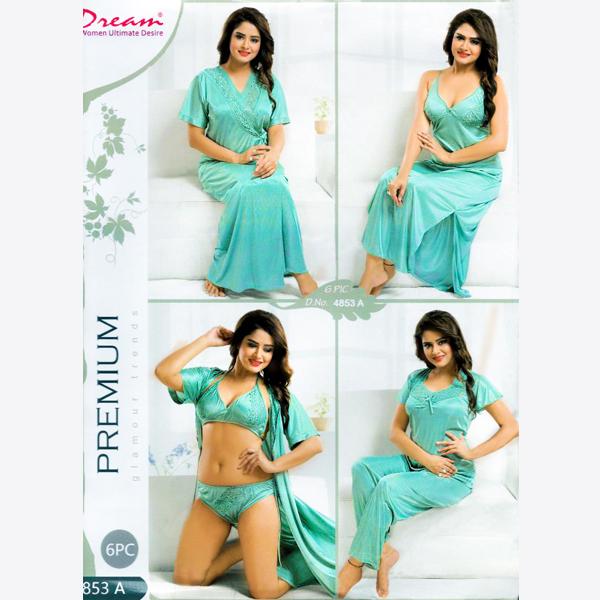 Fashionable Six Part Nighty-4853-A