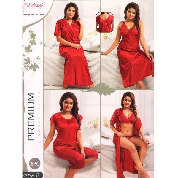 Fashionable Six Part Nighty-4938 B