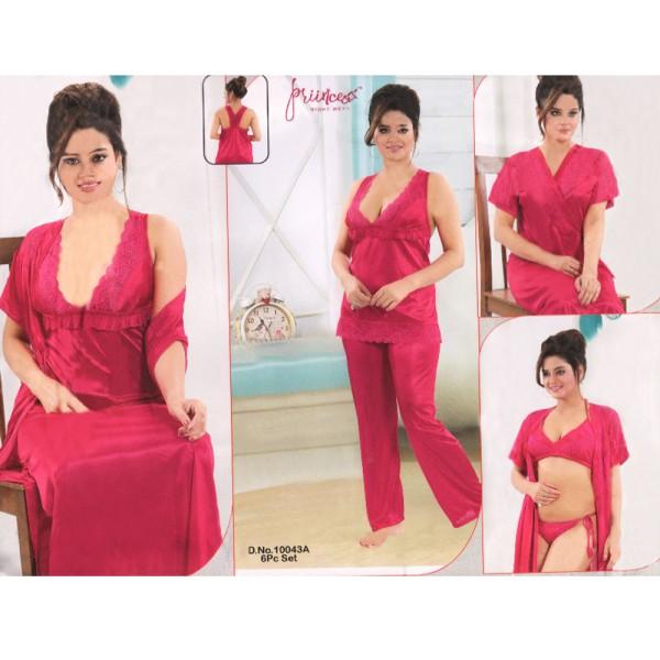 Fashionable Six Part Nighty-10043 A