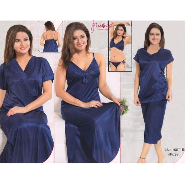 Fashionable Six Part Nighty-10071 B