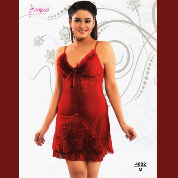Fashionable Hot Nighty-4882 M