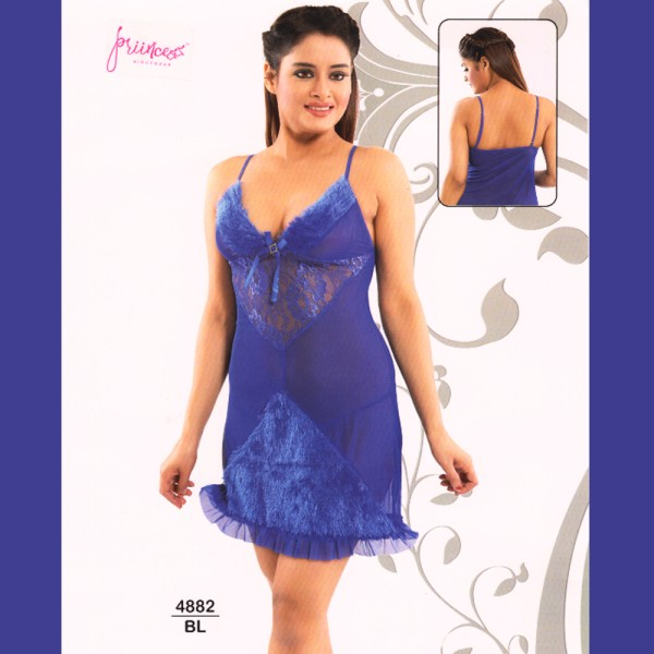 Fashionable Hot Nighty-4882 BL