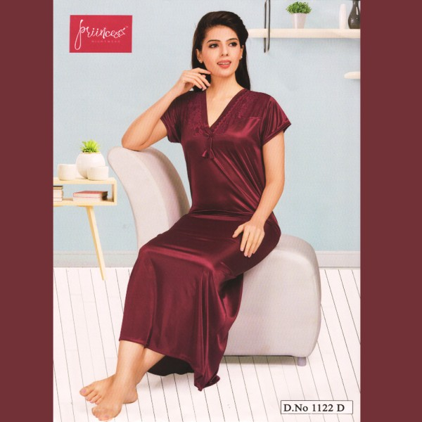 Fashionable One Part Nighty-1122 D