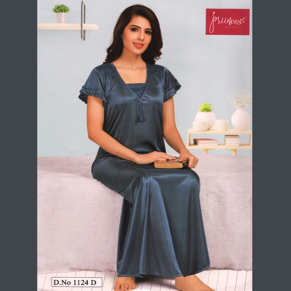 Fashionable One Part Nighty-1124 D