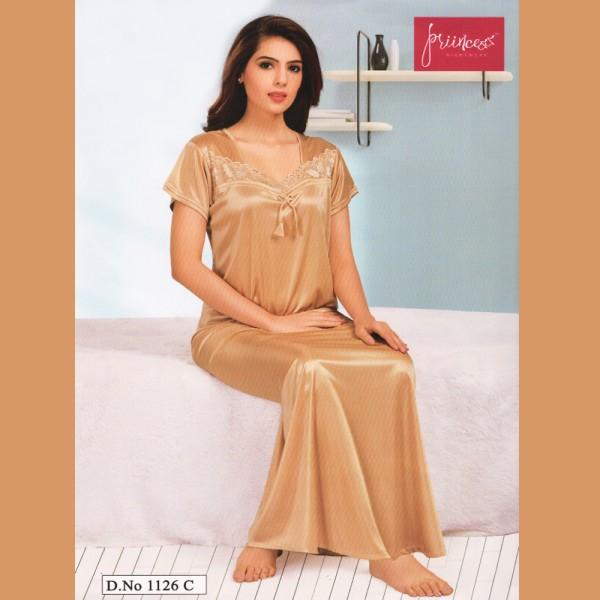 Fashionable One Part Nighty-1126 C