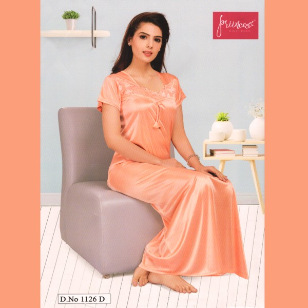 Fashionable One Part Nighty-1126 D