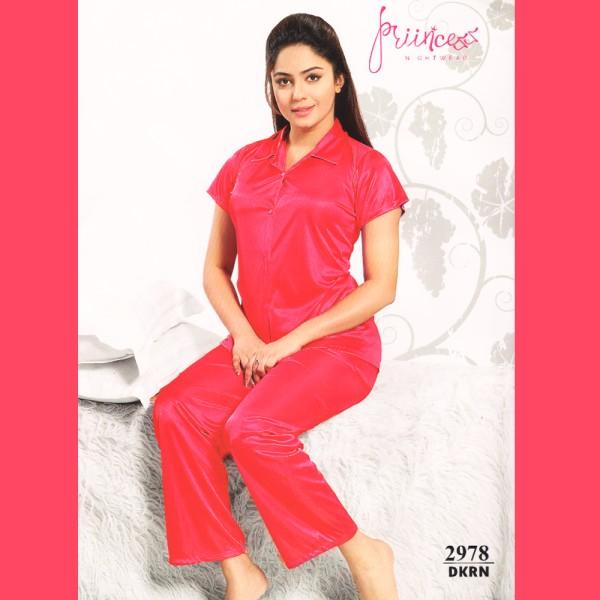 Fashionable Satin Divider-2978 DKRN