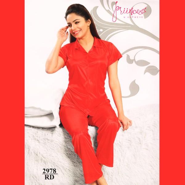 Fashionable Satin Divider-2978 RD