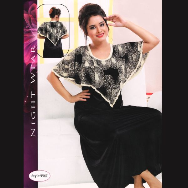 Fashionable One Part Nighty-5567