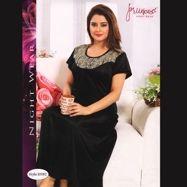 Fashionable One Part Nighty-10082