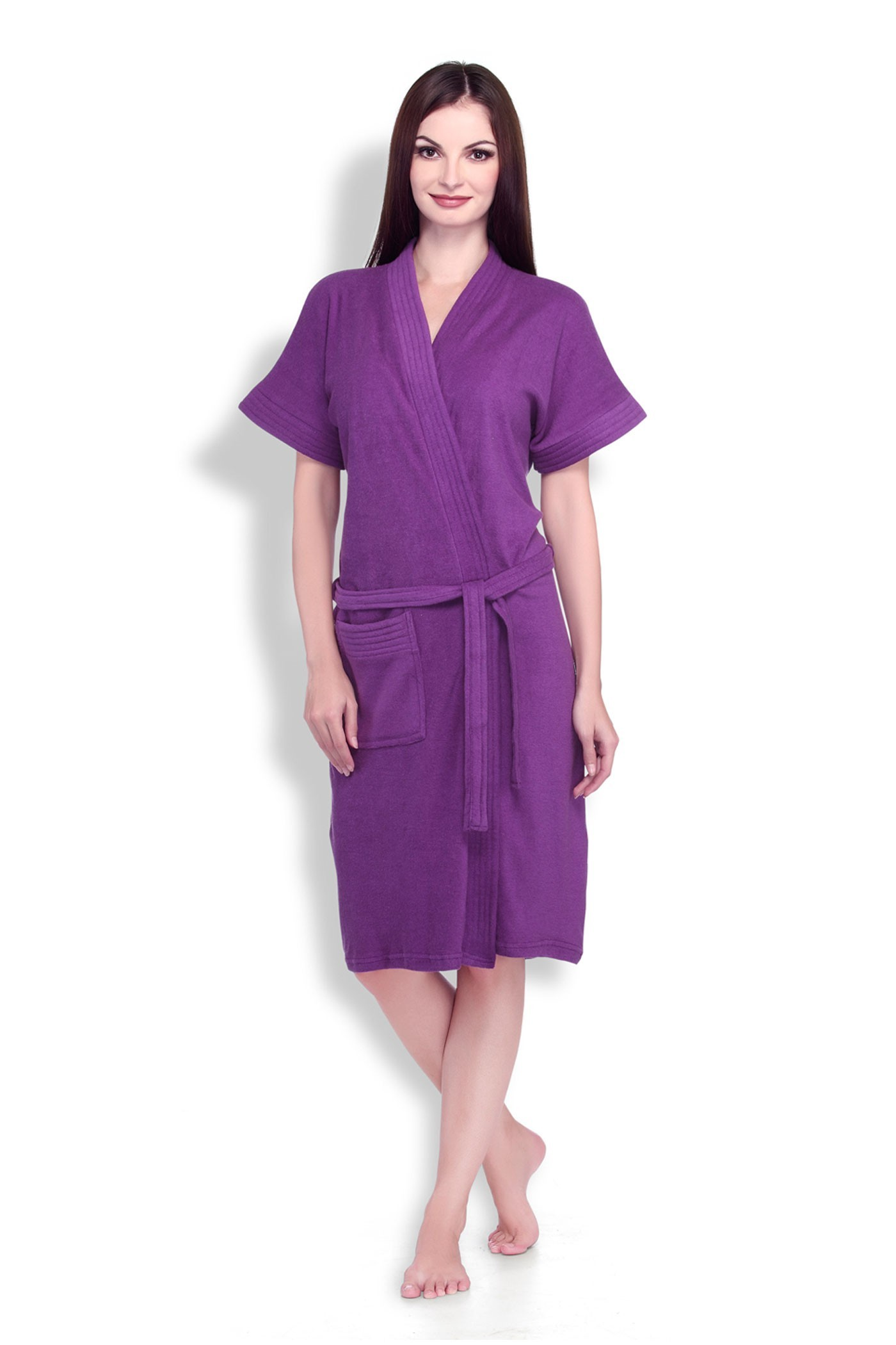 Purple Bathrobe