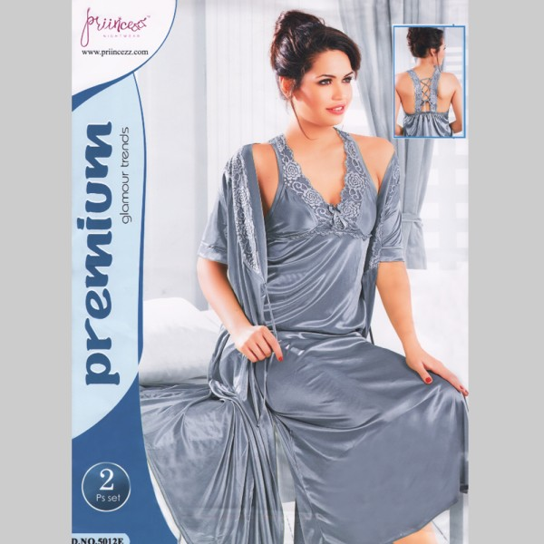 Fashionable Two Part Nighty-5012 E