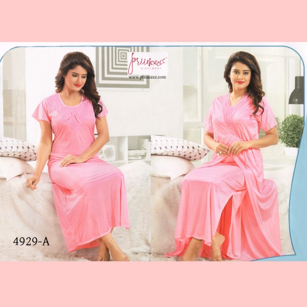 Fashionable Two Part Nighty-4929 A