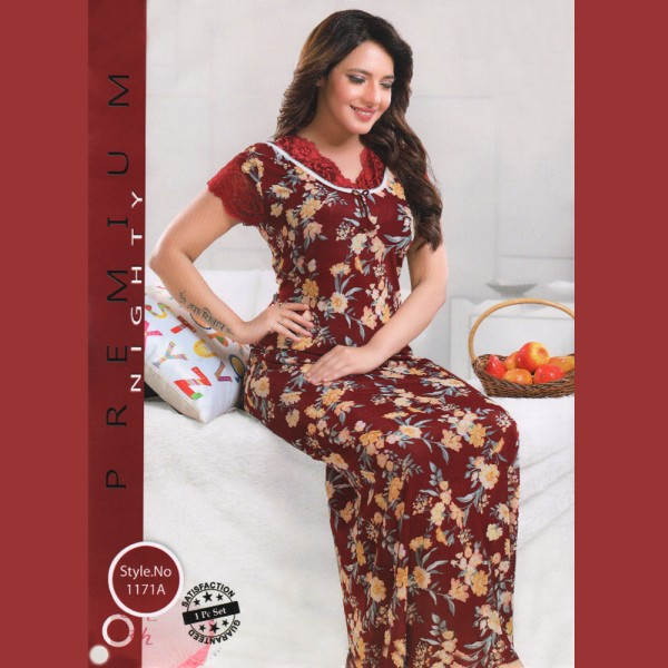Fashionable One Part Nighty-1171 A