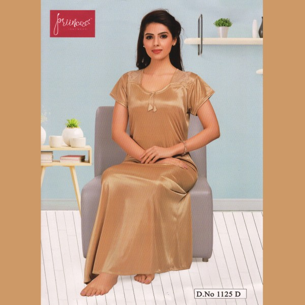Fashionable One Part Nighty-1125 D