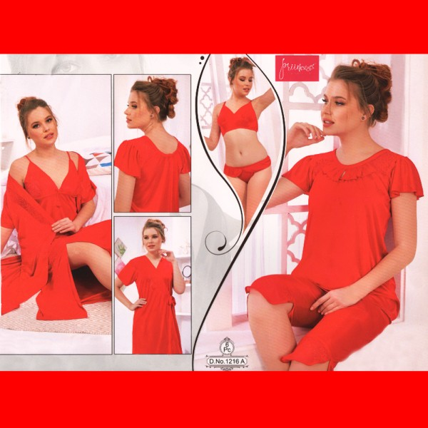Fashionable Six Part Nighty-1216 A