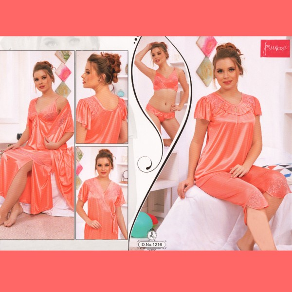 Fashionable Six Part Nighty-1216