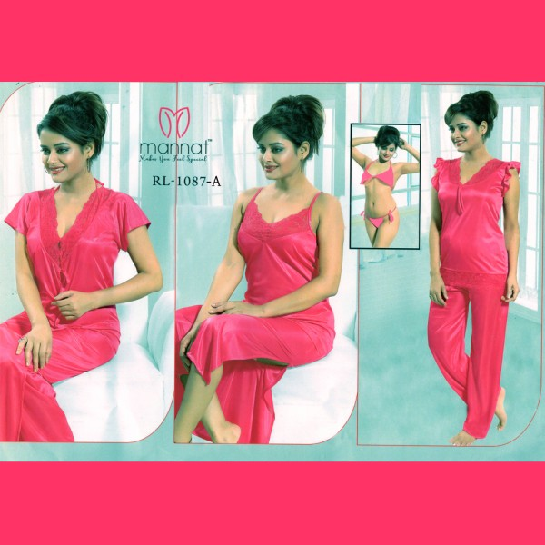 Fashionable Six Part Nighty-1087 A
