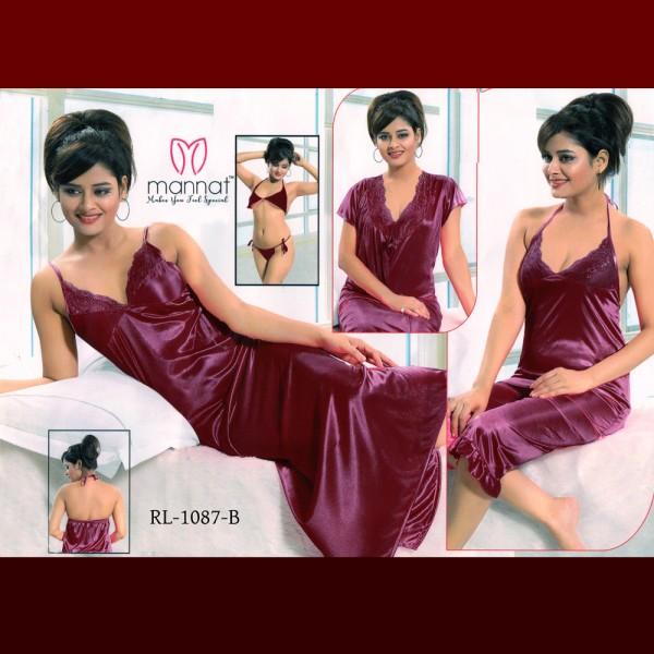 Fashionable Six Part Nighty-1087 B