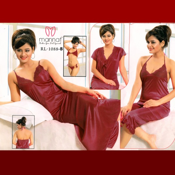 Fashionable Six Part Nighty-1088 B