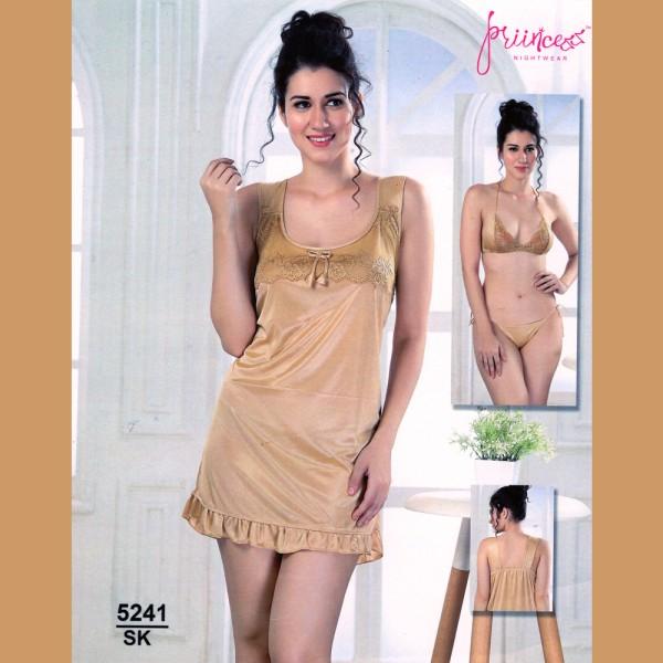 Fashionable Three Part Nighty-5241 SK
