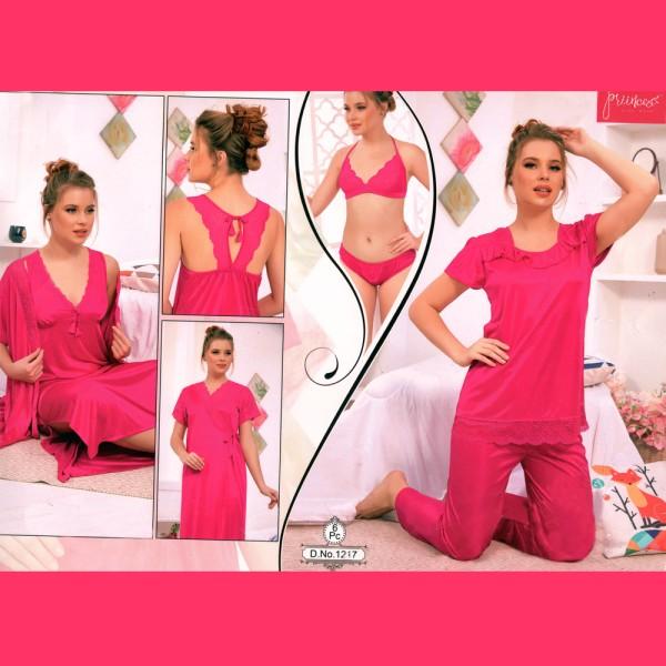 Fashionable Six Part Nighty-1217