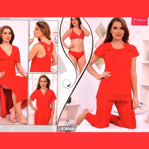 Fashionable Six Part Nighty-1217 C