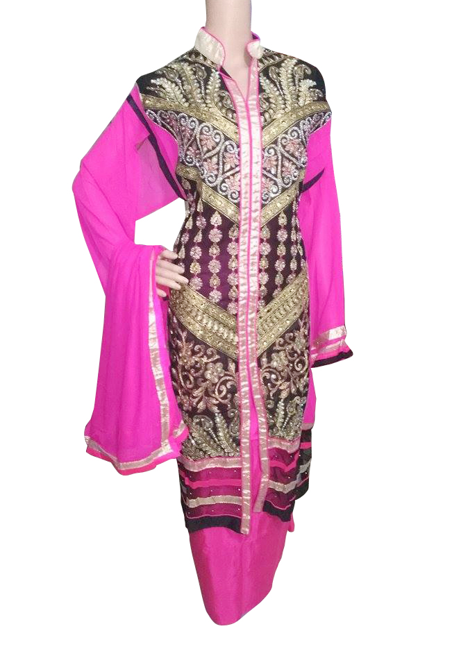 Party Wear Embroidery Salwar