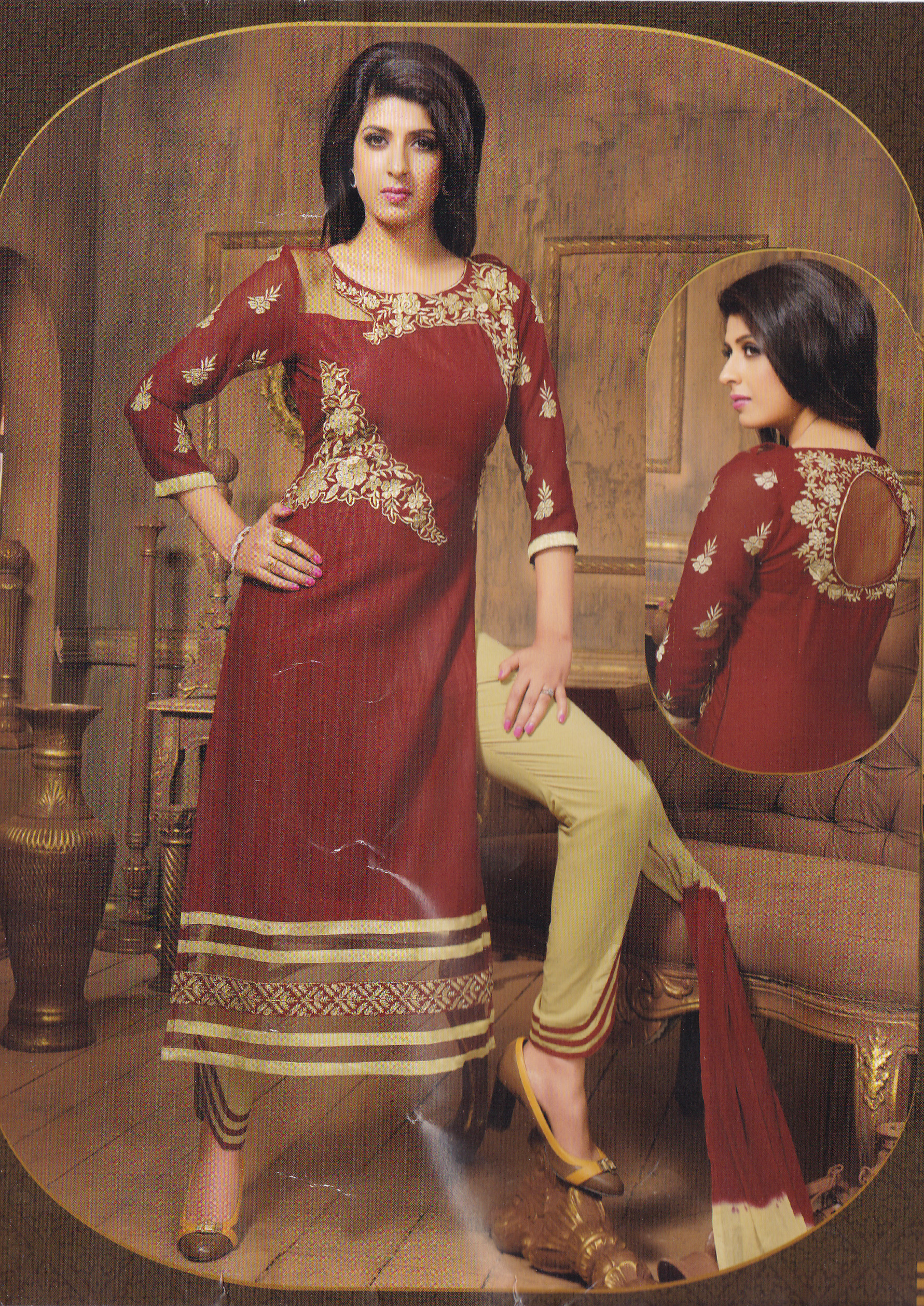Cotton Party Wear Salwar-031